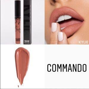 """KYLIE COSMETICS """"Commando"""" velvet lipstick"""